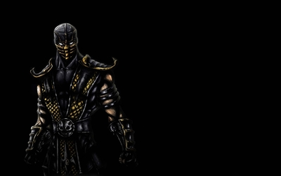 Scorpion - Mortal Kombat [2] wallpaper
