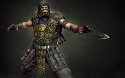 Scorpion - Mortal Kombat wallpaper