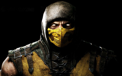 Scorpion - Mortal Kombat X [2] wallpaper