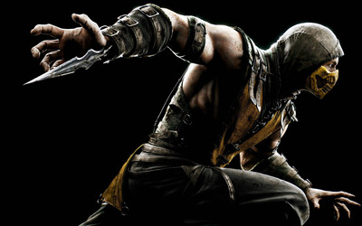 Scorpion - Mortal Kombat X wallpaper
