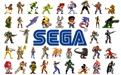 SEGA Mega Drive heroes wallpaper