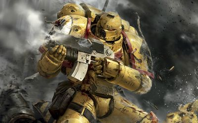 Sentinels of Terra - Warhammer 40,000 wallpaper