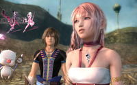 Serah and Noel - Final Fantasy XIII-2 [2] wallpaper 1920x1080 jpg