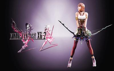 Serah Farron - Final Fantasy XIII-2 [2] wallpaper