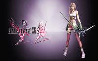 Serah Farron - Final Fantasy XIII-2 wallpaper 2560x1600 jpg