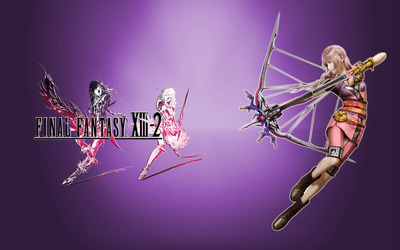 Serah Farron - Final Fantasy XIII-2 [3] wallpaper