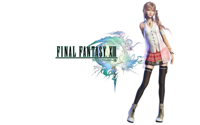 Serah Farron from Final Fantasy XIII wallpaper