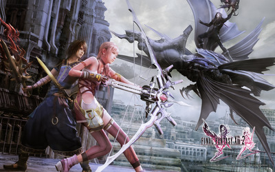 Serah, Noel and Caius- Final Fantasy XIII-2 wallpaper