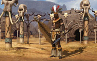Shaka of the Zulus - Sid Meier's Civilization V wallpaper 1920x1200 jpg