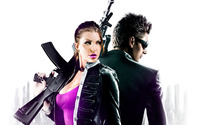 Shaundi and Johnny Gat - Saints Row IV wallpaper 1920x1200 jpg