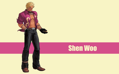 Shen Woo - The King of Fighters wallpaper