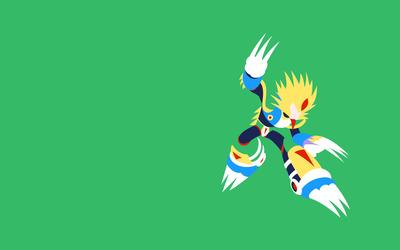 Slash Man - Mega Man wallpaper