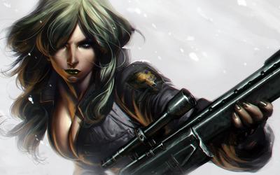 Sniper Wolf - Metal Gear Solid wallpaper