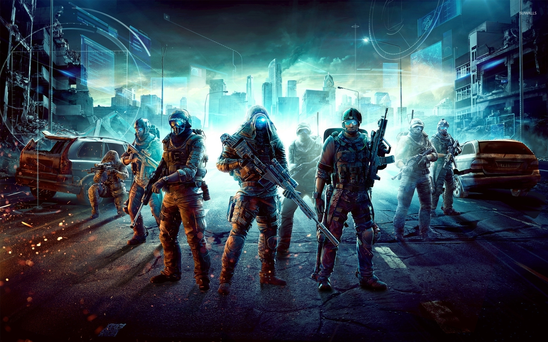 Snipers In Tom Clancys Ghost Recon Future Soldier Wallpaper