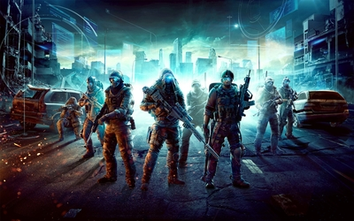 Snipers in Tom Clancy's Ghost Recon: Future Soldier wallpaper