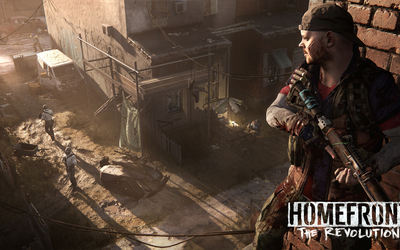 Soldiers in Homefront: The Revolution wallpaper