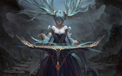 Sona - League of Legends wallpaper