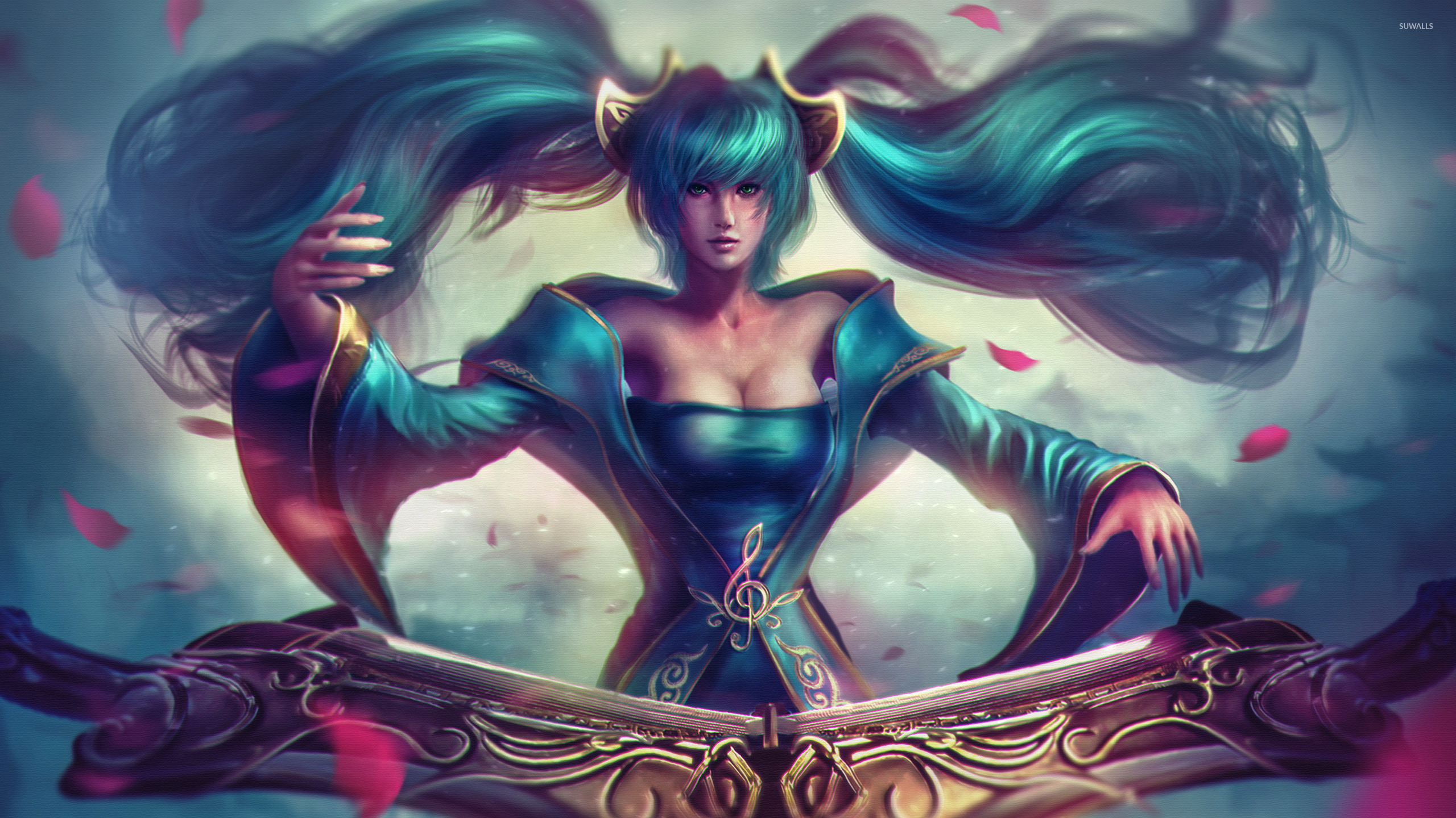 Sona - League of Legends [2] wallpaper - Game wallpapers ...