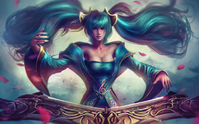Sona - League of Legends [2] wallpaper