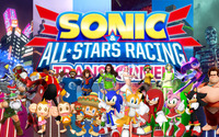 Sonic & All-Stars Racing Transformed wallpaper 1920x1080 jpg