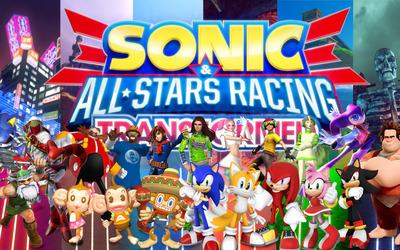 Sonic & All-Stars Racing Transformed wallpaper