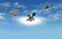 Sonic boom - Skylanders: Giants wallpaper 1920x1080 jpg