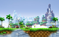 Sonic Generations [2] wallpaper 1920x1080 jpg
