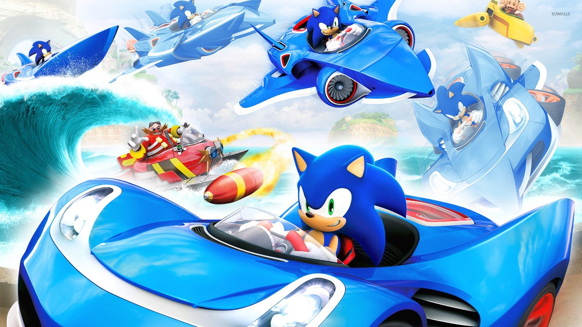 sonic the hedgehog 4 wallpaper game wallpapers 32864