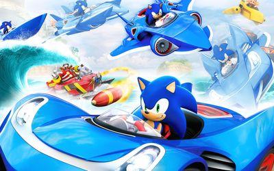 Sonic the Hedgehog [4] wallpaper