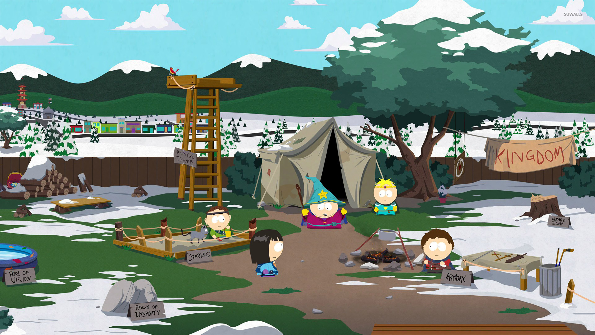 South Park The Stick Of Truth 4 Wallpaper Game Wallpapers