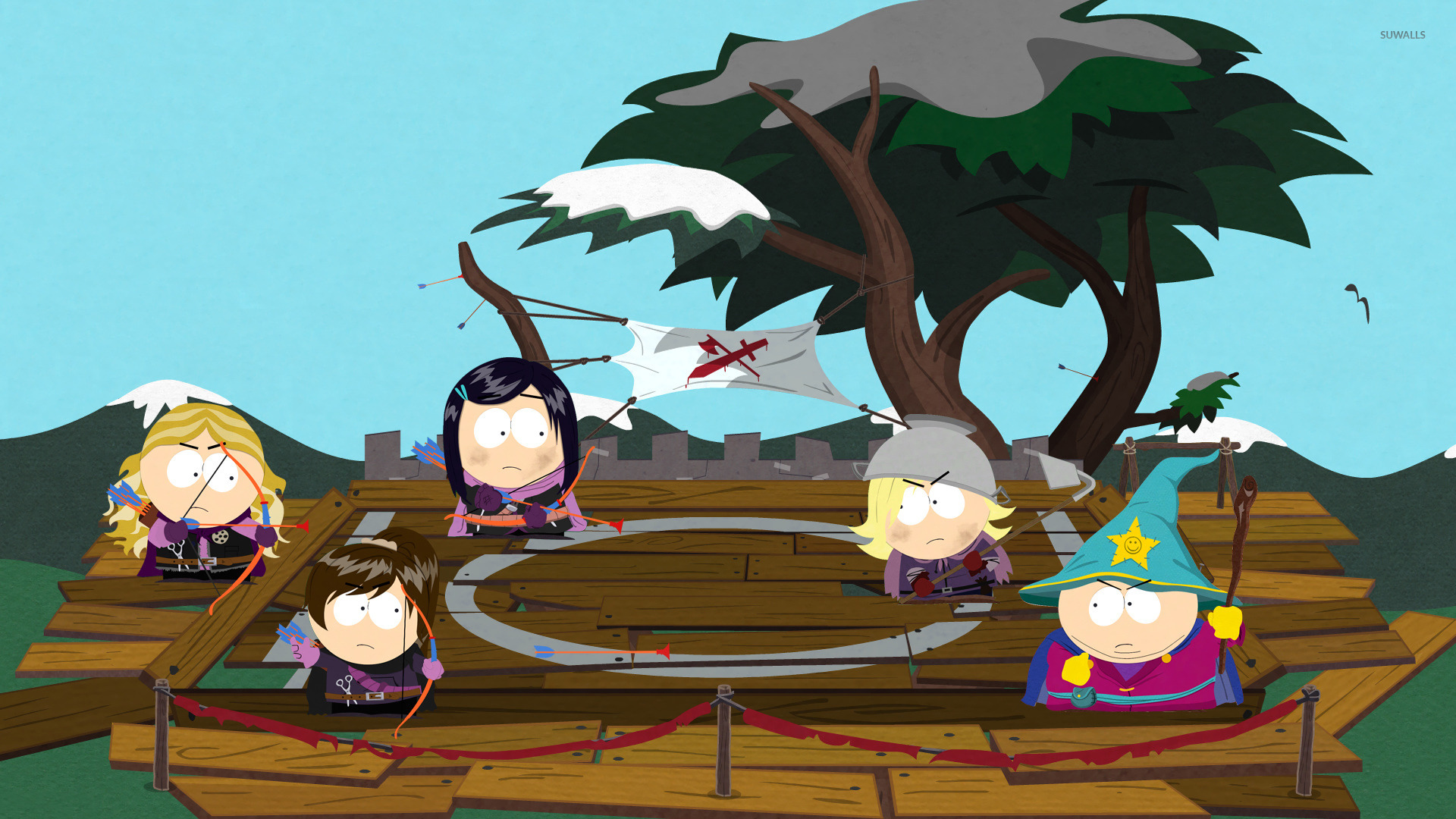 south park the stick of truth 7 wallpaper game