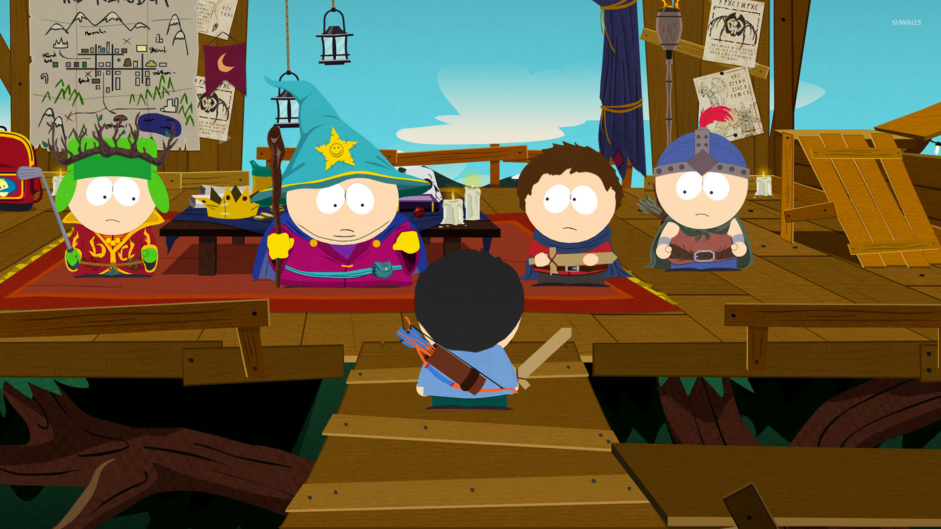 south park the stick of truth 5 wallpaper game