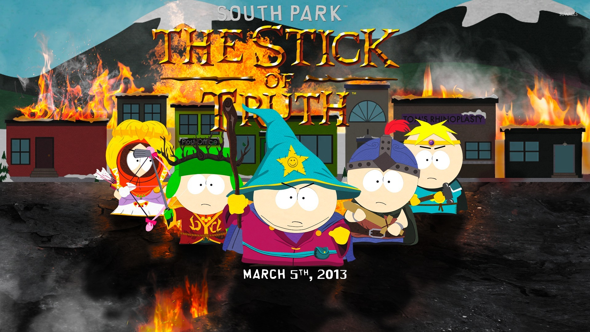 south park the stick of truth wallpaper game
