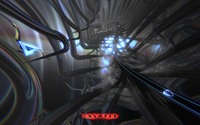 Space beetle in the silver tunnel in Thumper wallpaper 2560x1440 jpg