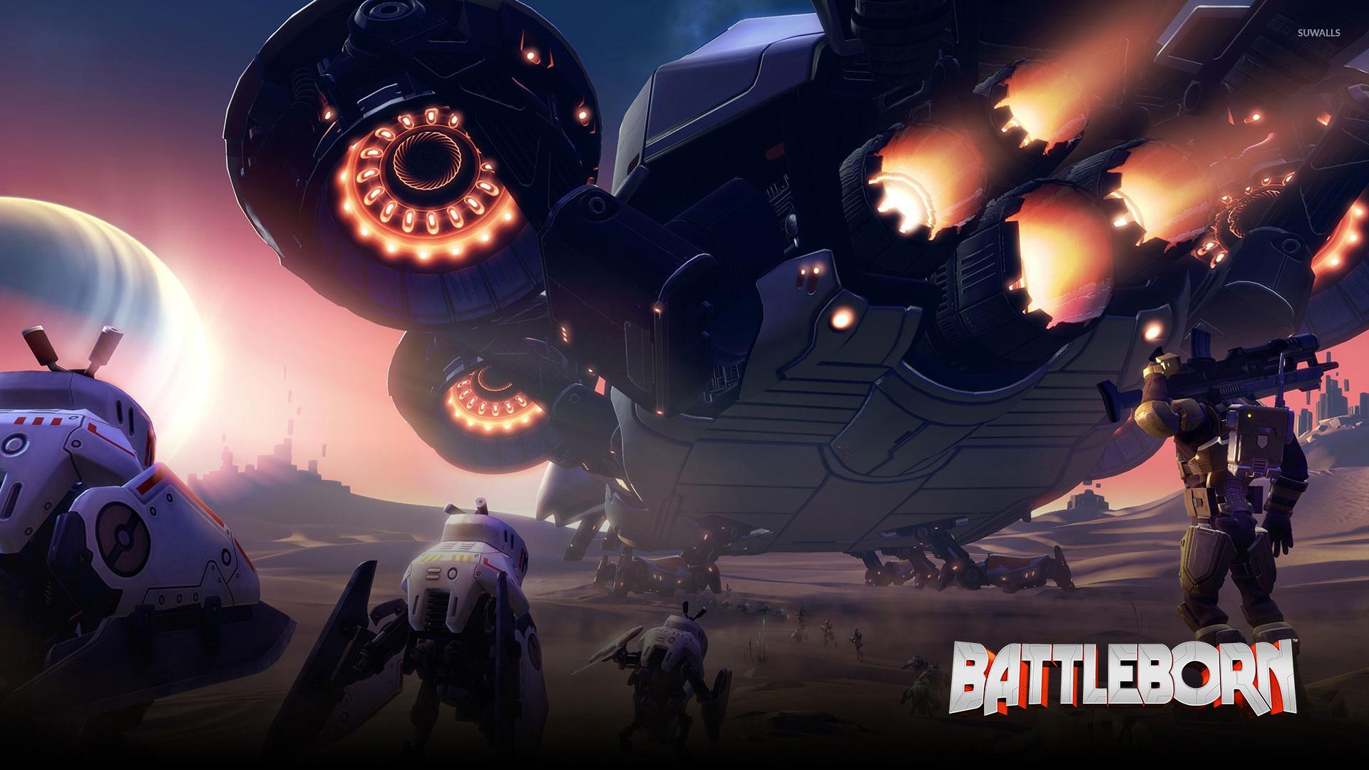 Spaceship In Battleborn Wallpaper Game Wallpapers 50411