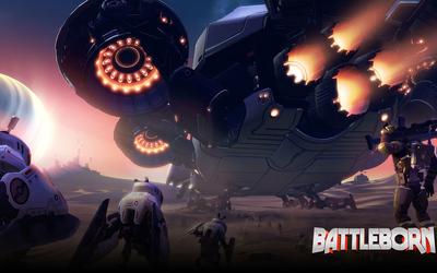 Spaceship in Battleborn wallpaper