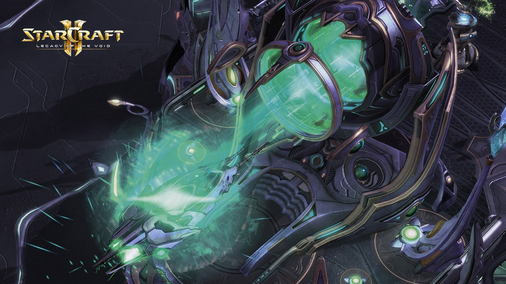 Spaceship Launch In Starcraft Ii Legacy Of The Void Wallpaper