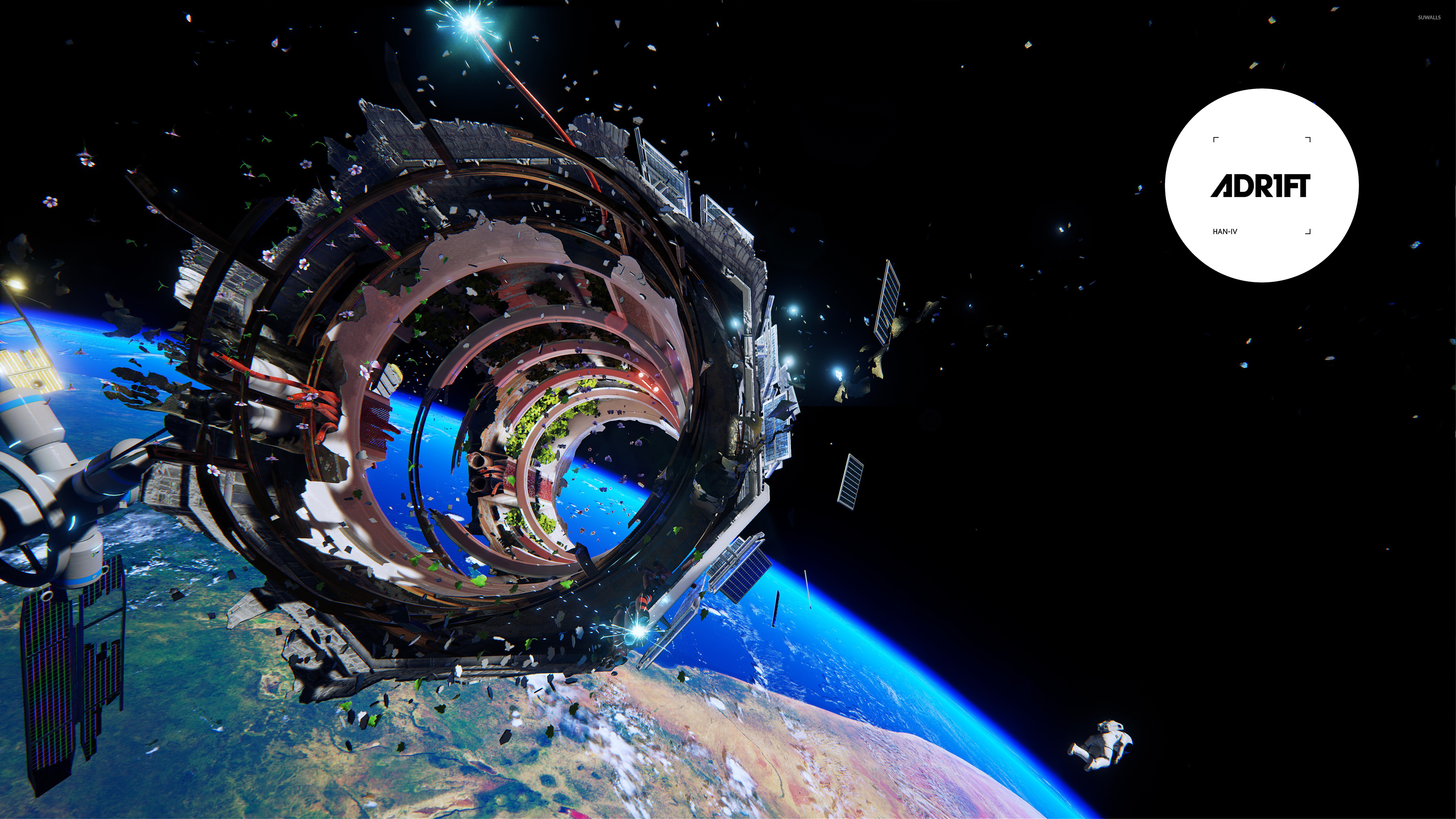 Spaceship Werck In Adr1ft Wallpaper Game Wallpapers 50840