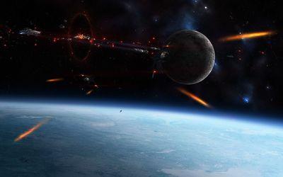Spacewar wallpaper