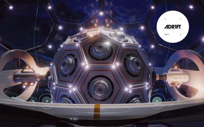 Spherical device in ADR1FT wallpaper