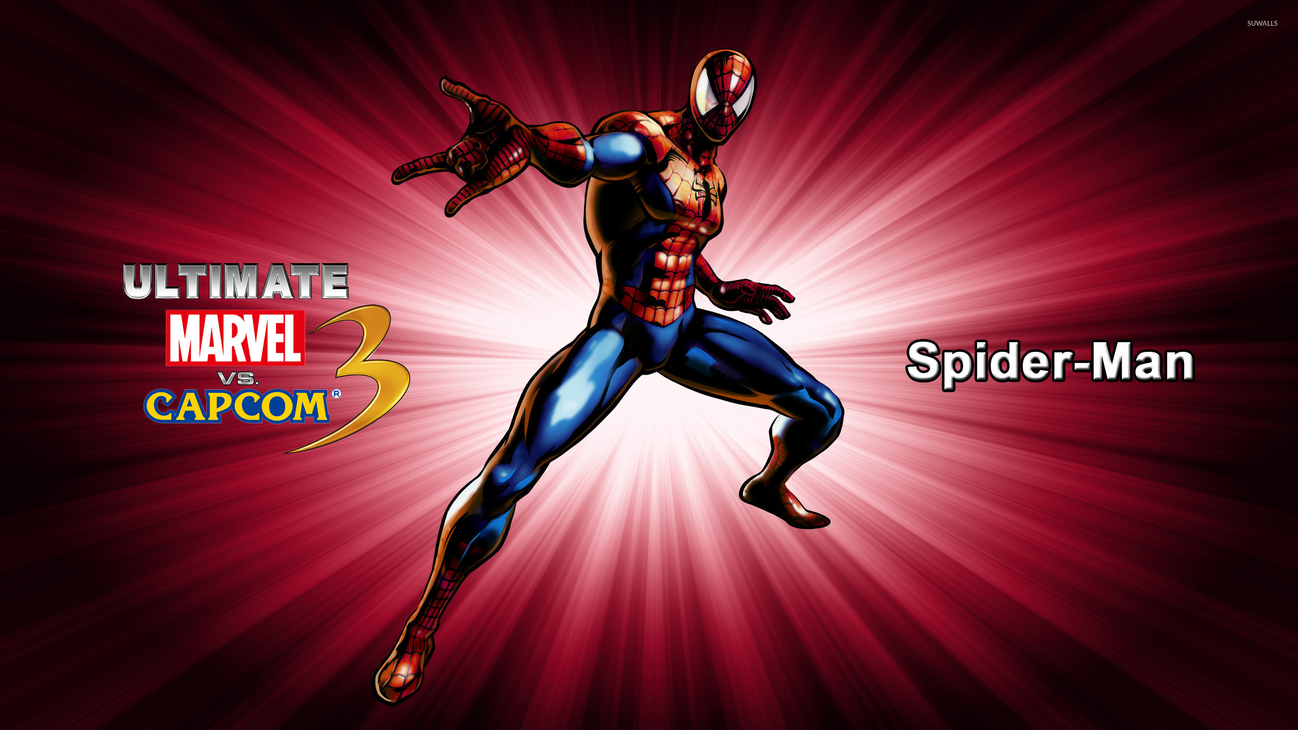 spider man ultimate marvel vs capcom 3 wallpaper game wallpapers 12423. Black Bedroom Furniture Sets. Home Design Ideas