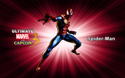 Spider-Man - Ultimate Marvel vs. Capcom 3 wallpaper