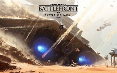 The Battle of Jakku - Star Wars: Battlefront wallpaper