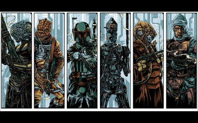 Star Wars: Bounty Hunter wallpaper