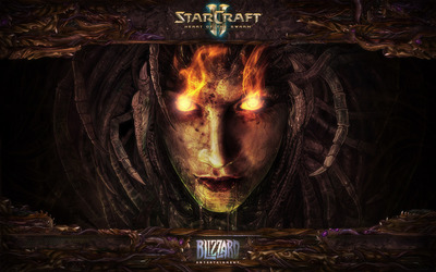 StarCraft 2: Heart of the Swarm wallpaper