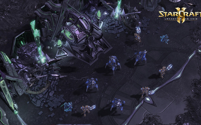 StarCraft II: Legacy of the Void battle wallpaper