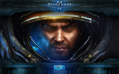 Starcraft II: Wings of Liverty wallpaper