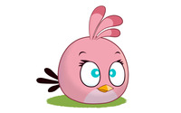 Stella - Angry Birds wallpaper 1920x1200 jpg
