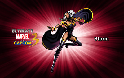 Storm - Ultimate Marvel vs. Capcom 3 wallpaper