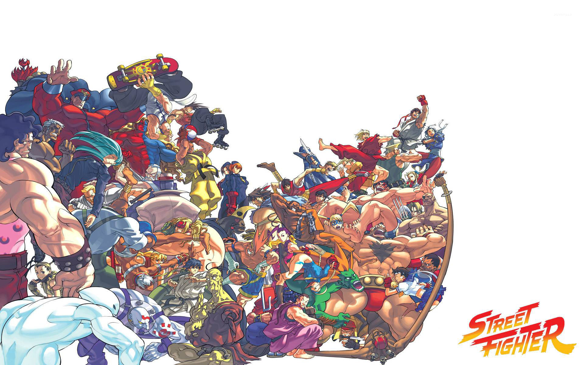street fighter wallpaper - game wallpapers - #27594